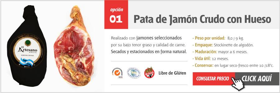 Jamon Crudo Argentino El Artesano