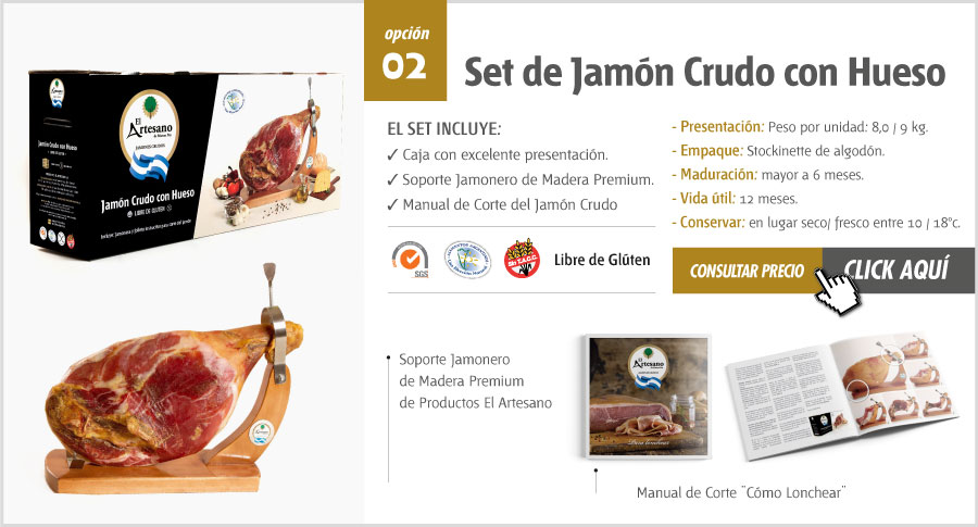 Set de Jamon Crudo El Artesano