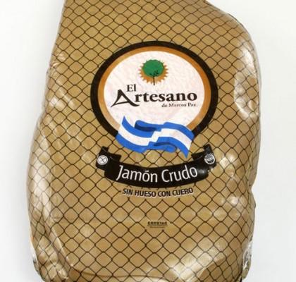 Jamón Crudo sin Hueso con Cuero