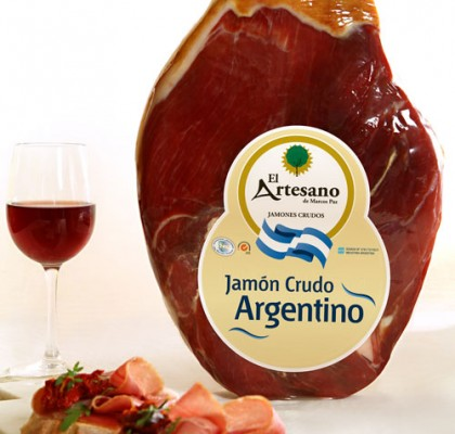 1º Jamón Crudo Argentino